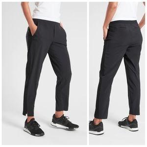 Athleta Brooklyn Black Ankle Pants Size 14